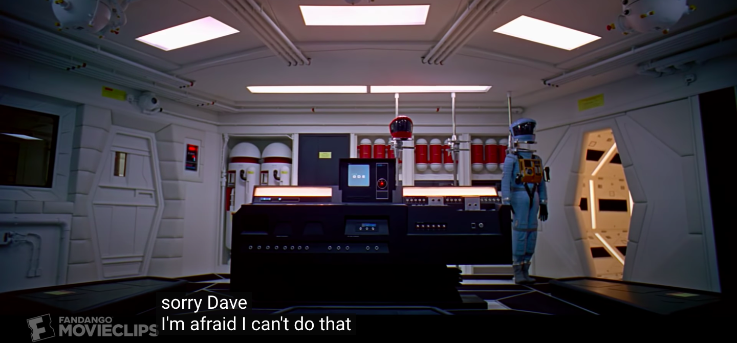 HAL 9000 denying access to Dave